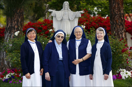 Sisters, Sisters of Nazareth San Diego